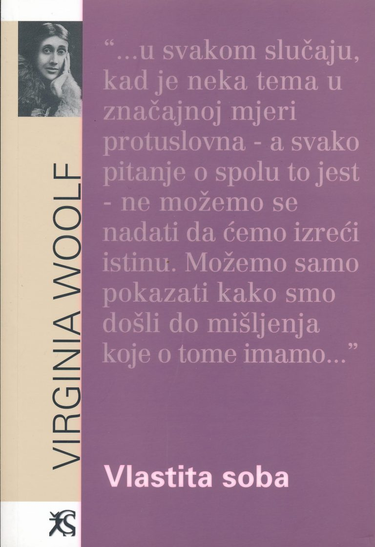 Virginia woolf – Vlastita soba