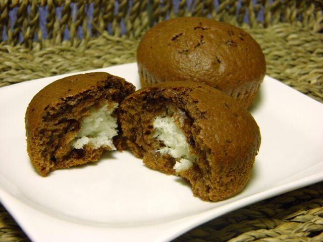 Čokoladni muffini s kokosom