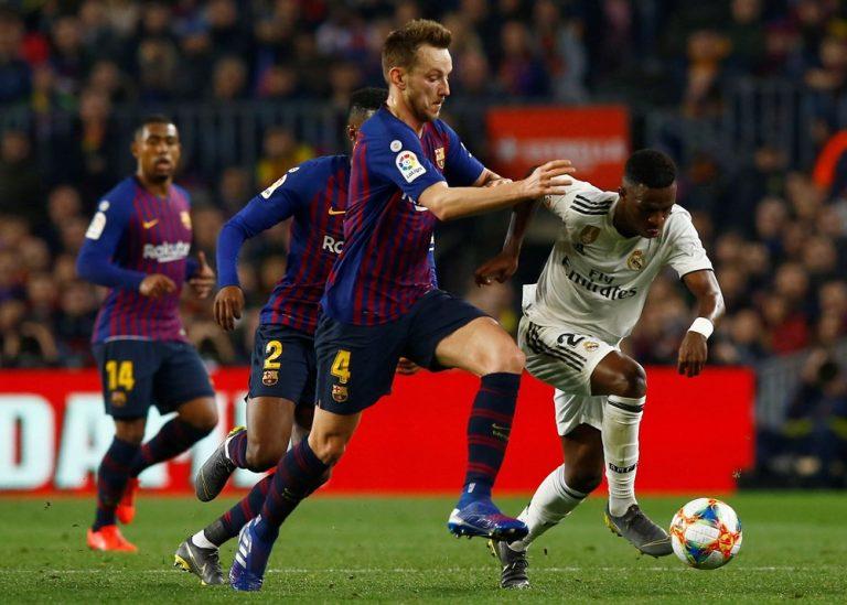 Barcelona – Real Madrid 1-1, Rakitić pogodio vratnicu
