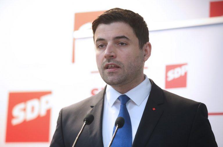 Bernardić pozvao HDZ, HSS i IDS da pokrenu opoziv Tajanija