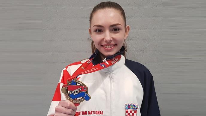 EP: Ines Grdenić brončana u konkurenciji mlađih seniorki