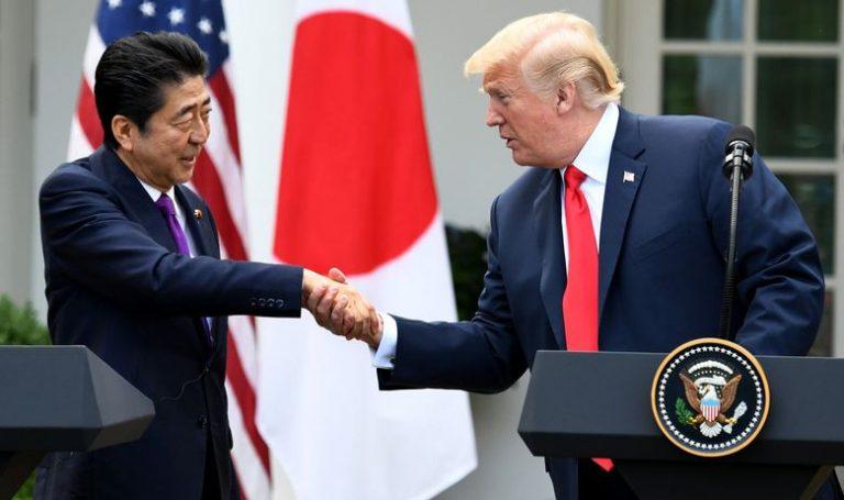 TRUMP NATJERAO JAPANSKOG PREMIJERA DA GA NOMINIRA ZA NOBELOVU NAGRADU ZA MIR