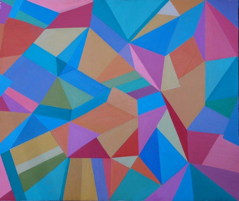 Geometrija u slikarstvu Josipa Rubesa i Miljenka Belera