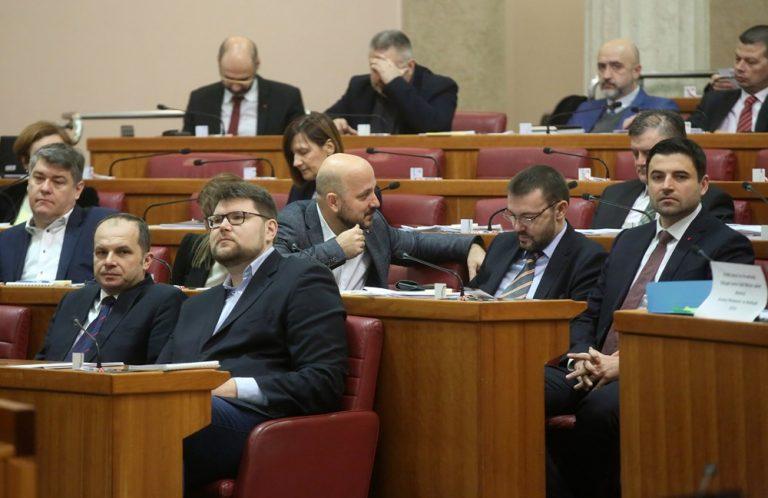 """Peđa Grbin """"pomilovan"""", Klub zastupnika SDP-a izglasao ukidanje suspenzije """"četvorki"""""""