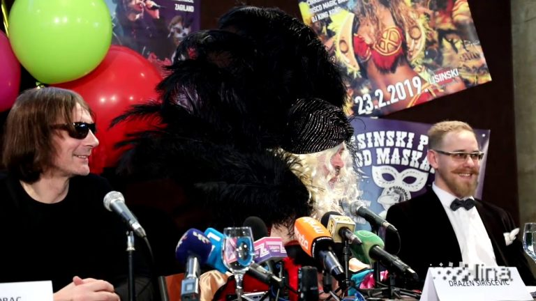 """Konferencija za medije """"Lisinski pleše pod maskama"""""""