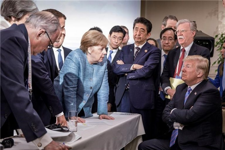 "Merkel snažno za multilateralizam, nasuprot Trumpovoj ""Americi na prvom mjestu"""