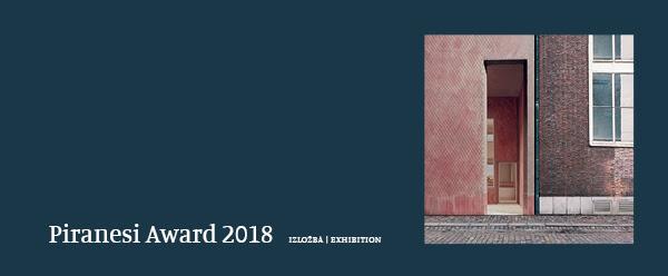 Piranesi Award 2018