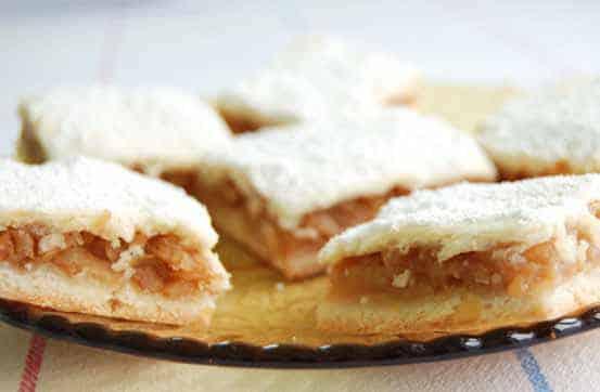 Pita s medom i jabukama / recept