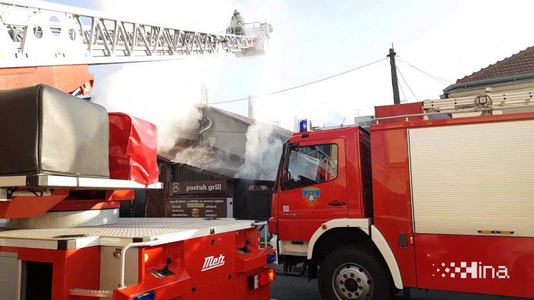 Požar na Kustošiji