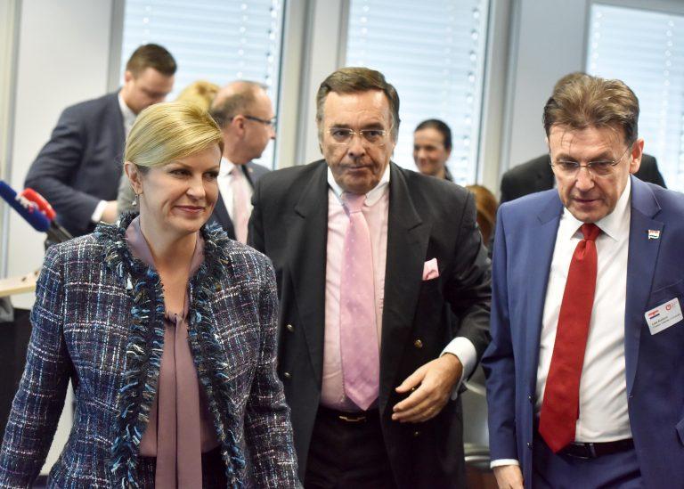 Predsjednica Republike otvorila Njemačko-hrvatski gospodarski forum