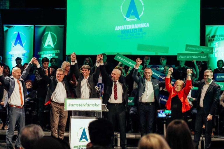 Predstavljanje liste Amsterdamske koalicije