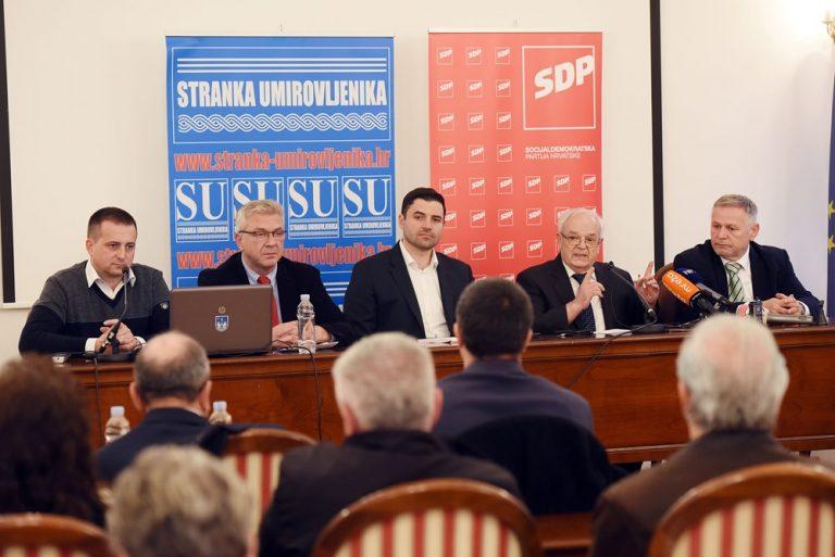 SDP-ov plan povećati prosječne mirovine za 300 kuna