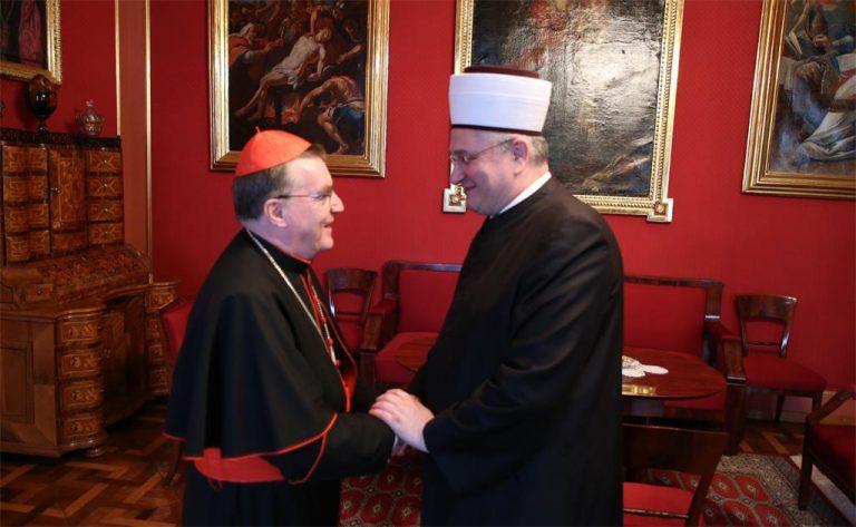Susret kardinala Bozanića i muftije Hasanovića