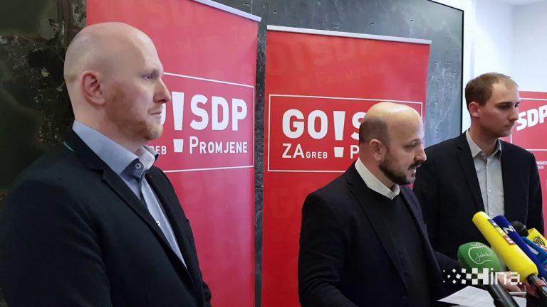 Zagrebački SDP neće podržati osnivanje tvrtke za obnavljanje sportskih objekata