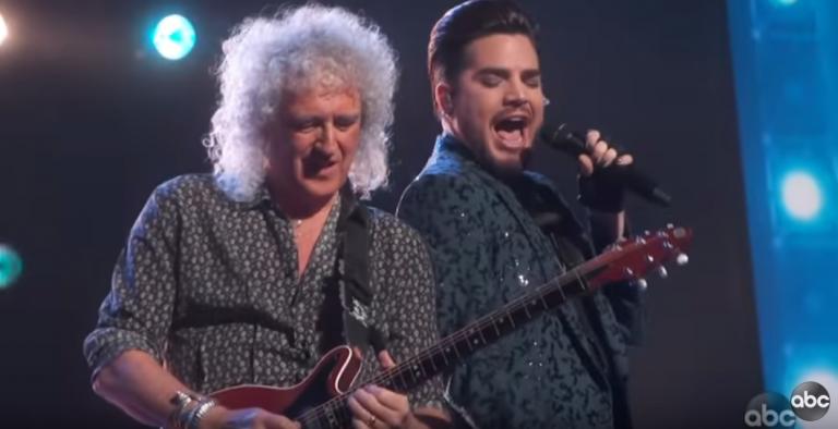 Oskarovski nastup grupe Queen i Adama Lamberta