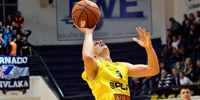 SLAVLJE ŠIBENČANA: Košarkaši Splita doživjeli peti poraz u hrvatskom prvenstvu