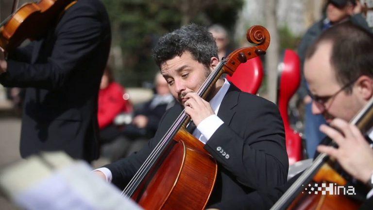Koncert Zagrebačkih solista u centru Zagreba