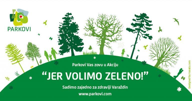 Akcija uključivanja građana u ozelenjavanje Varaždina