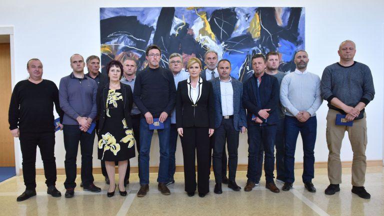 Predsjednica Republike primila predstavnike radnika Uljanika