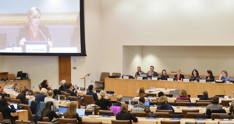Predsjednica Republike sudjelovala na obilježavanju 25. godišnjice mandata Posebne izvjestiteljice UN-a za nasilje nad ženama