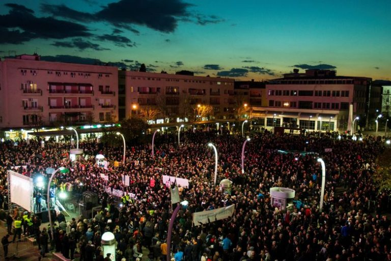 U Podgorici održan najveći prosvjedni skup do sada
