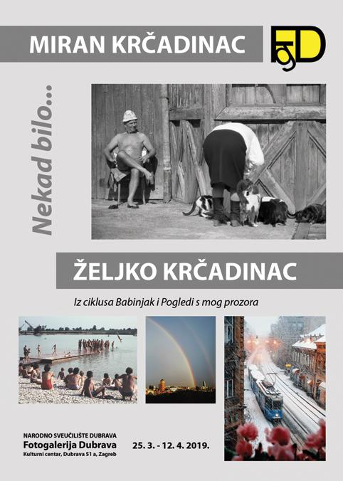 Izložba Mirana i Željka Krčadinca u Fotogaleriji Dubrava