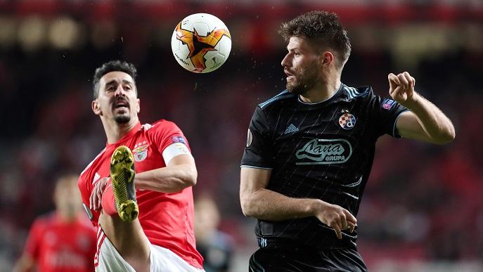 Dinamo ipak nije uspio preko Benfice u četvrtfinale Europske lige
