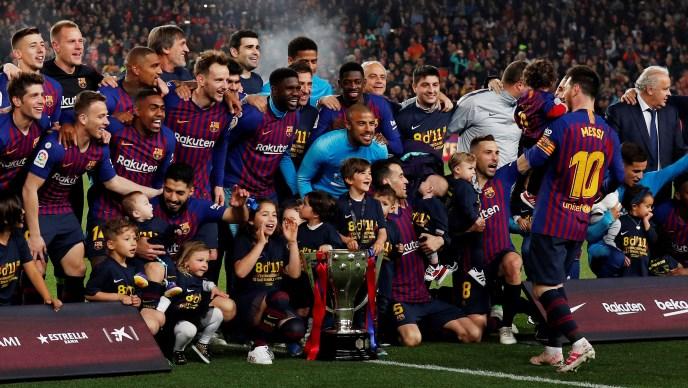 Barcelona tri kola prije kraja osigurala 26. naslov prvaka