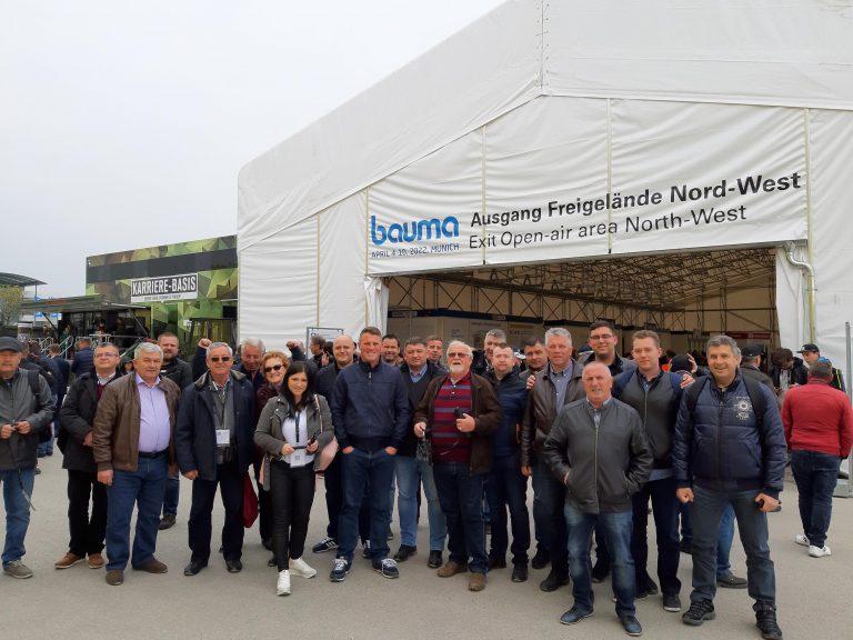 Udruženje prijevoznika Zagreb na sajmu BAUMA u Münchenu