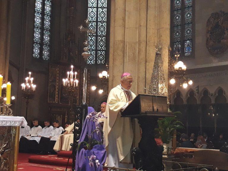 Misa Večere Gospodnje u zagrebačkoj katedrali