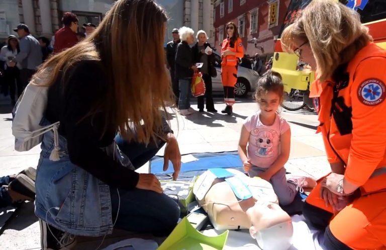 Na Narodnom trgu oblježen Dan hitne pomoći