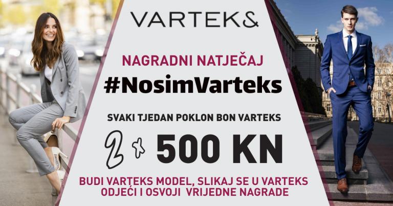 Kreće reality revija – #NosimVarteks nagradni natječaj