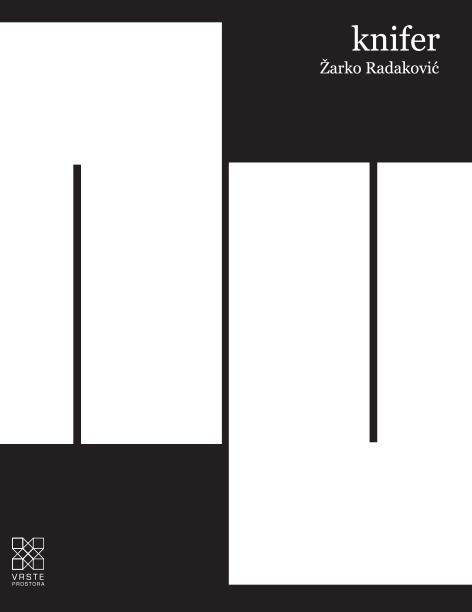 Predstavljanje knjige KNIFER autora Žarka Radakovića, 24. travnja