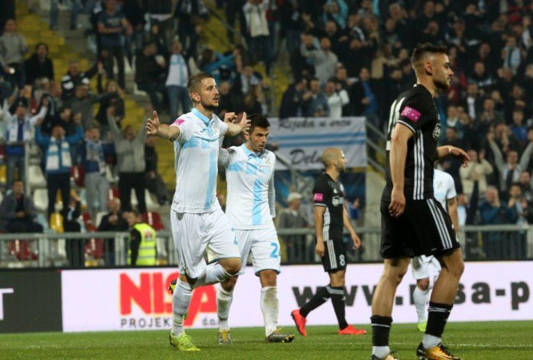 Rijeka svladavši Inter odgodila Dinamovo slavlje