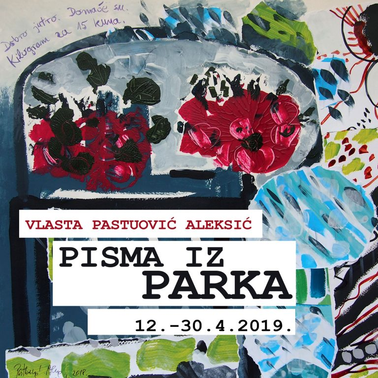 Vlasta Pastuović Aleksić – PISMA IZ PARKA