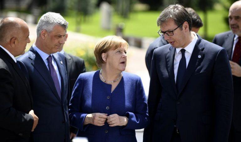 Vučić priznao da je situacija komplicirana, Thaci očekuje pomoć Angele Merkel