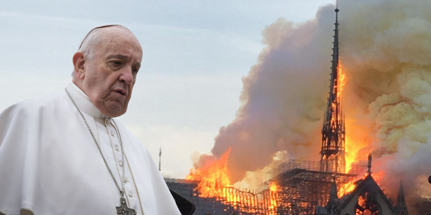 Papa pariškom nadbiskupu: Neka katedrala Notre Dame ponovno bude znak vjere
