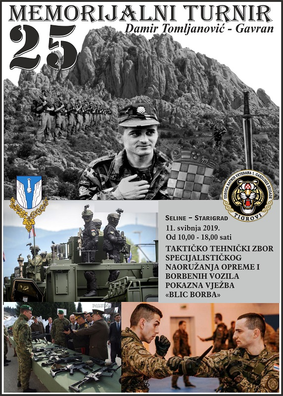 Održan 25. Memorijalni malonogometni turnir za Gavrana – Veterani Tigrova na Tulovim gredama