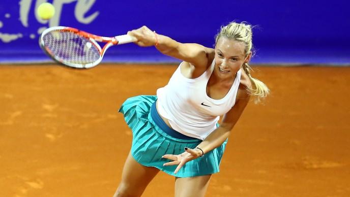 Donna Vekić u 3. kolu Roland Garrosa