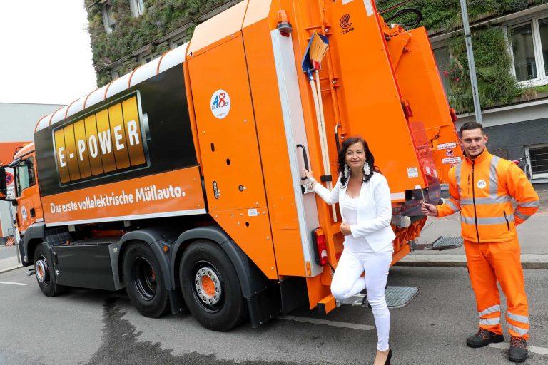 Beč uveo električno vozilo za prikupljanje otpada