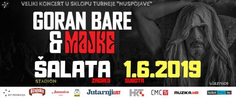 Goran Bare & Majke na Šalati, 1. lipnja