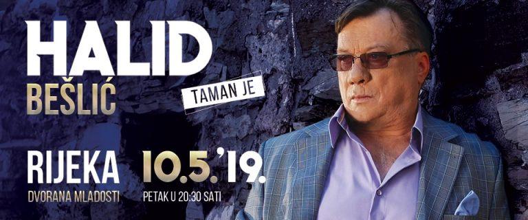 Halid Bešlić u Rijeci, 10. svibnja