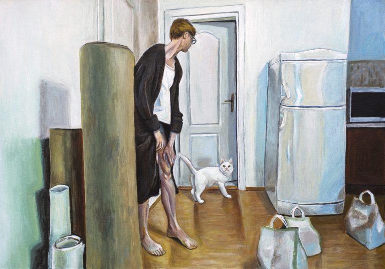 Tema autoportreta u ciklusu slika Marine Ćorić