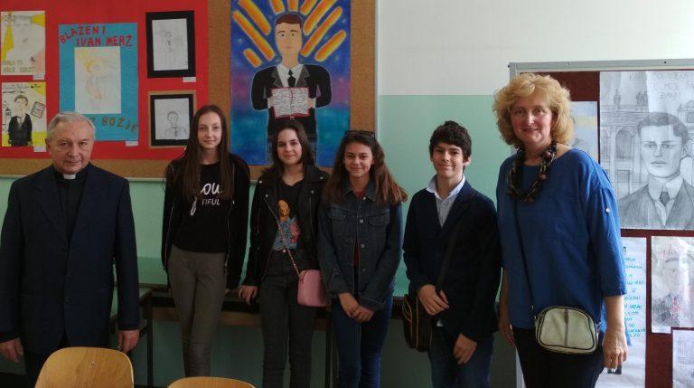 Održano natjecanje za učenike o poznavanju baštine blaženog Ivana Merza