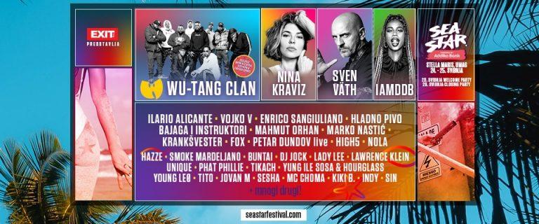 Sea Star Festival 2019, 24. i 25. svibnja