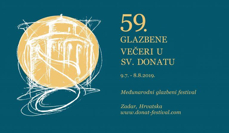 59. Glazbene večeri u Sv. Donatu donose trinaest vrhunskih glazbenih doživljaja