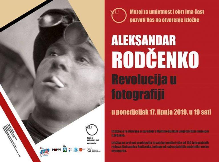 Izložba jednog od najznačajnijih umjetnika ruske avangarde Aleksandra Rodčenka