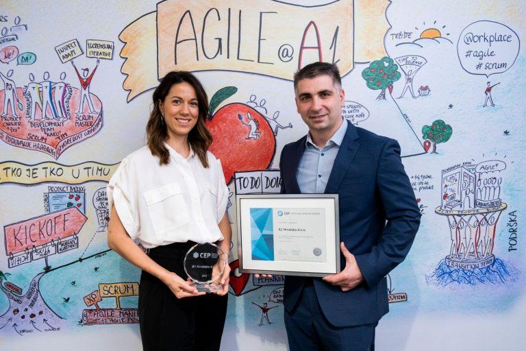 A1 Hrvatska nagrađen za izvrsnost u upravljanju zaposlenicima – i ove godine je Poslodavac Partner