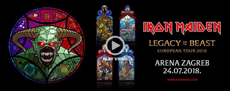 Nakon 5 godina Iron Maiden ponovno u Zagrebu