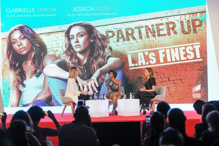 "Jessica Alba i Gabrielle Union predstavile seriju ""L.A. Finest"""
